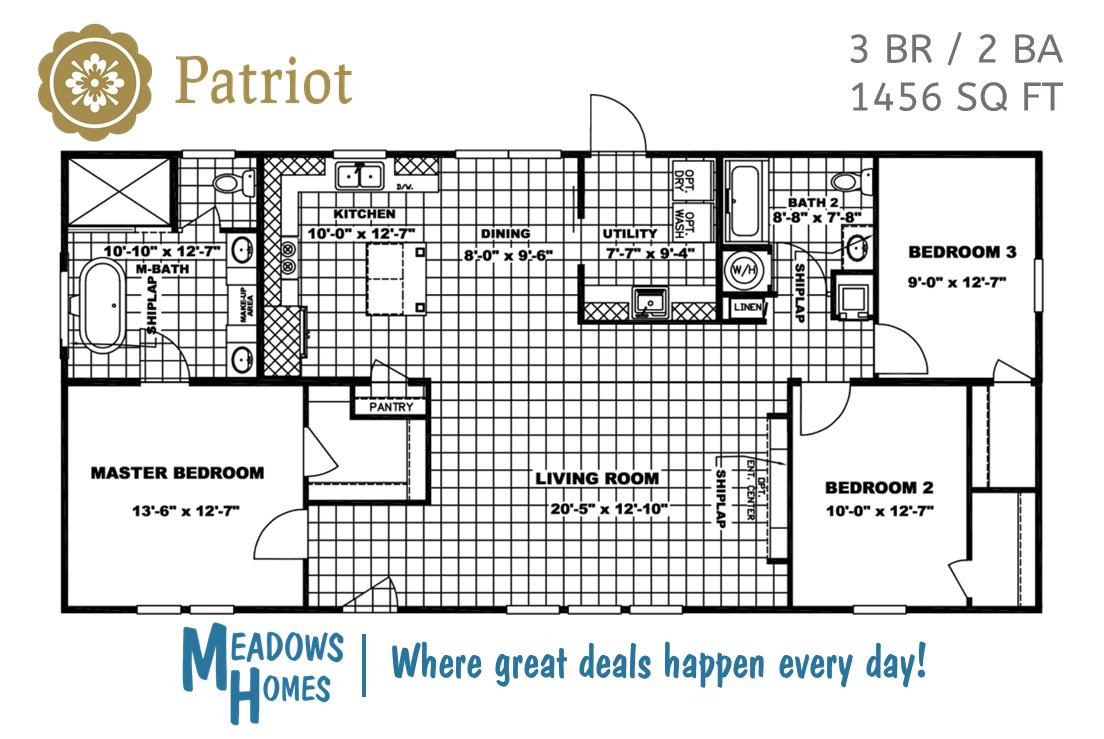 Patriot Floorplan