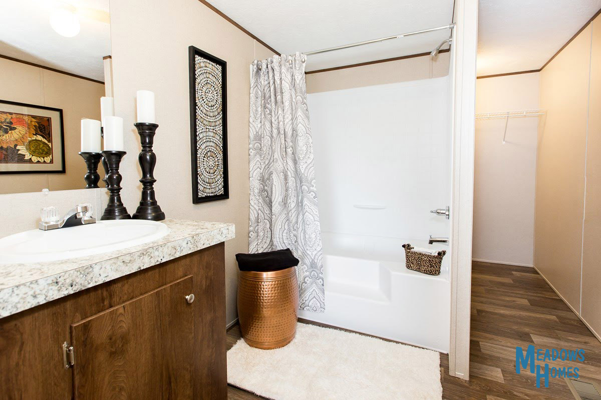 Master Bath & Shower & Closet Area