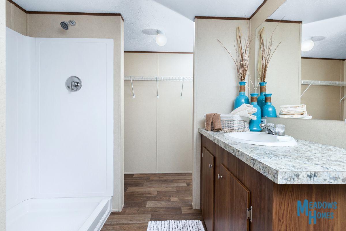 Master Bath & Shower & Closet Areas