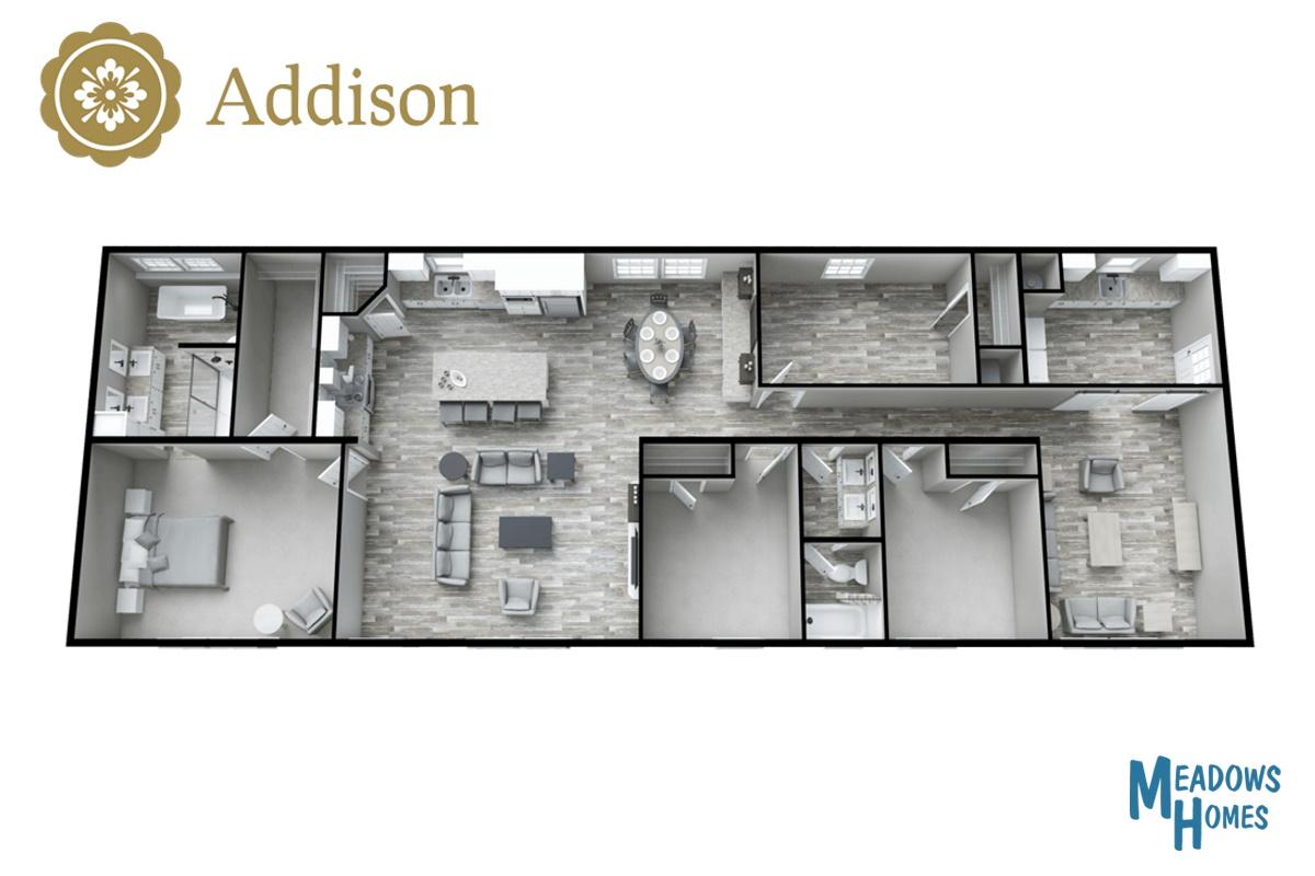 Addison 3D View