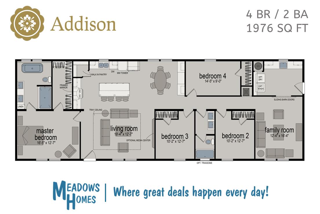 Addison Floorplan