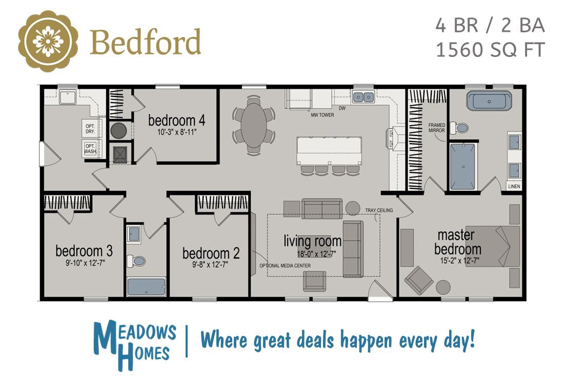 Bedford Floorplan