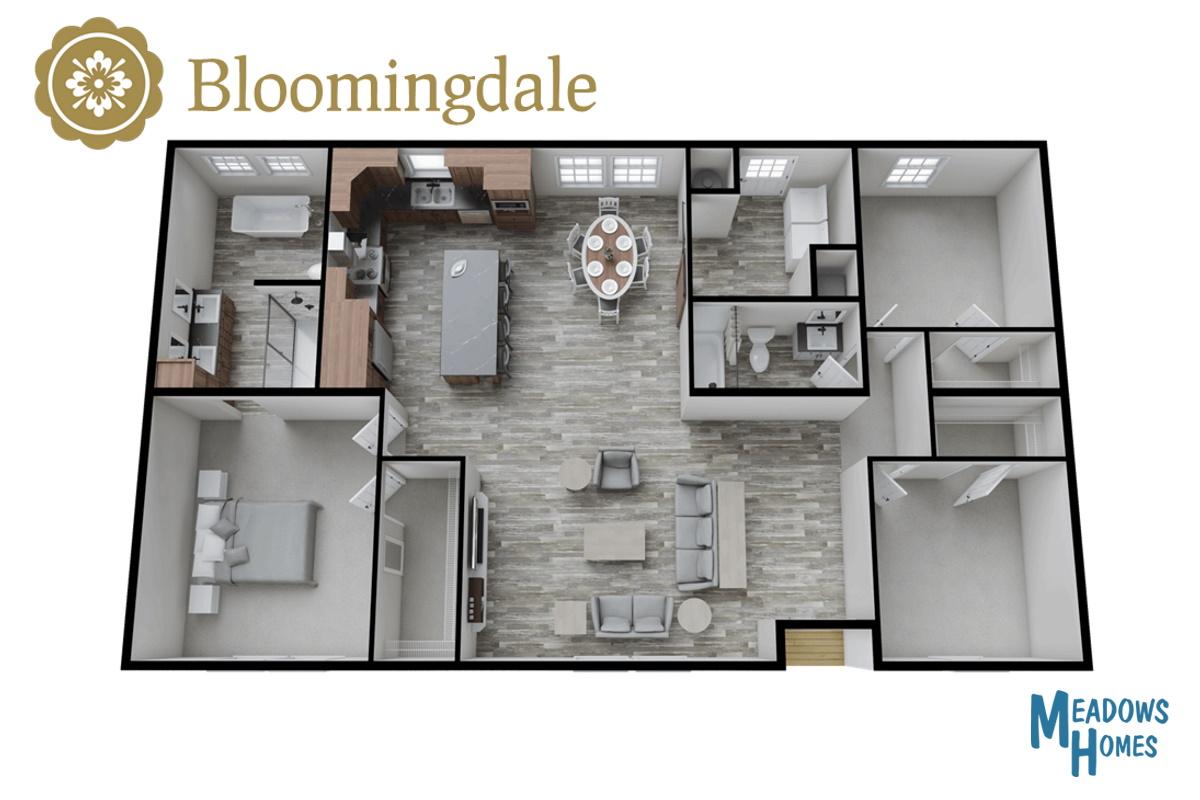 Bloomingdale 3D View