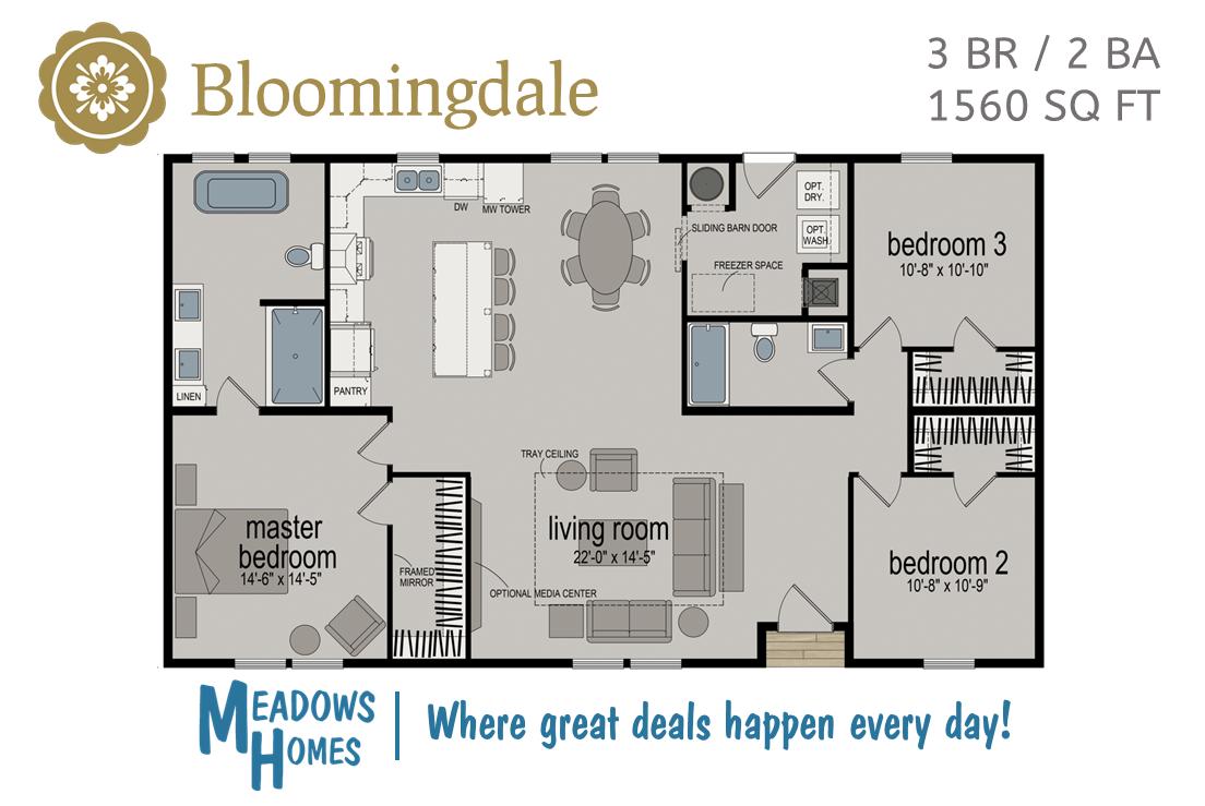Bloomingdale Floorplan