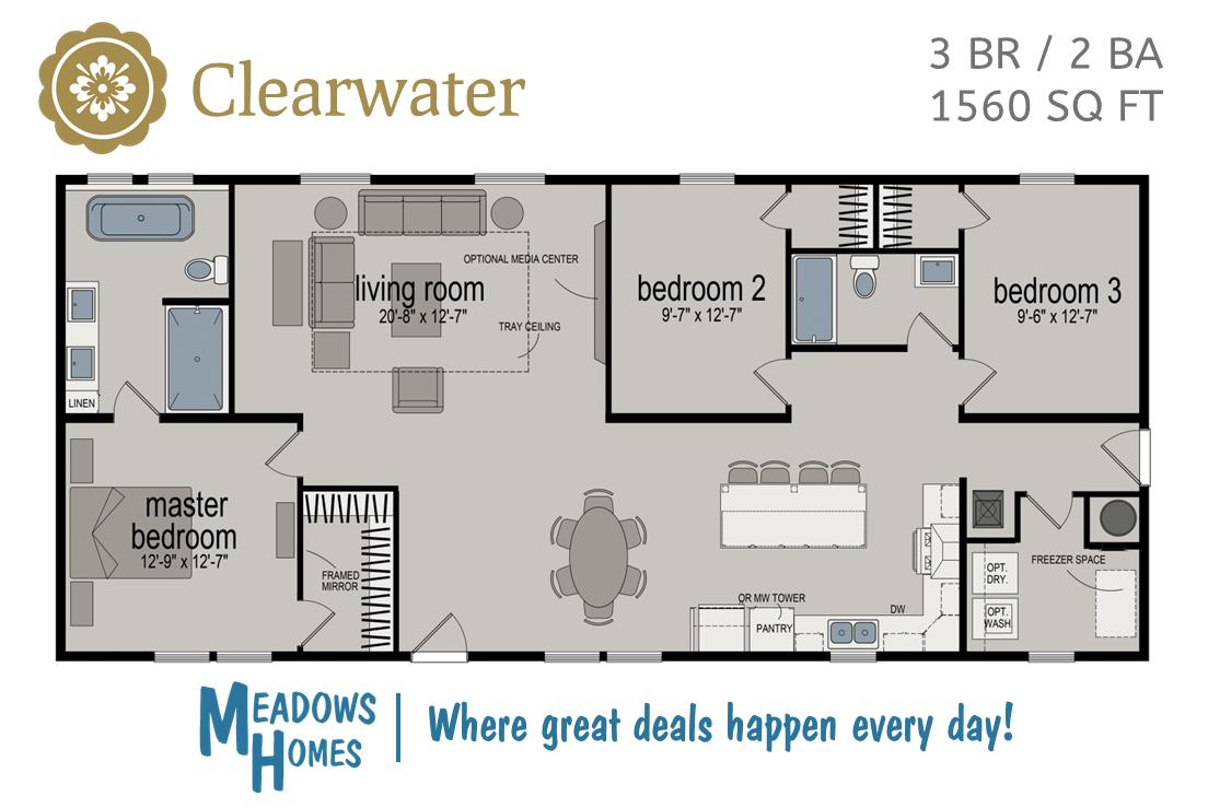 Clearwater Floorplan