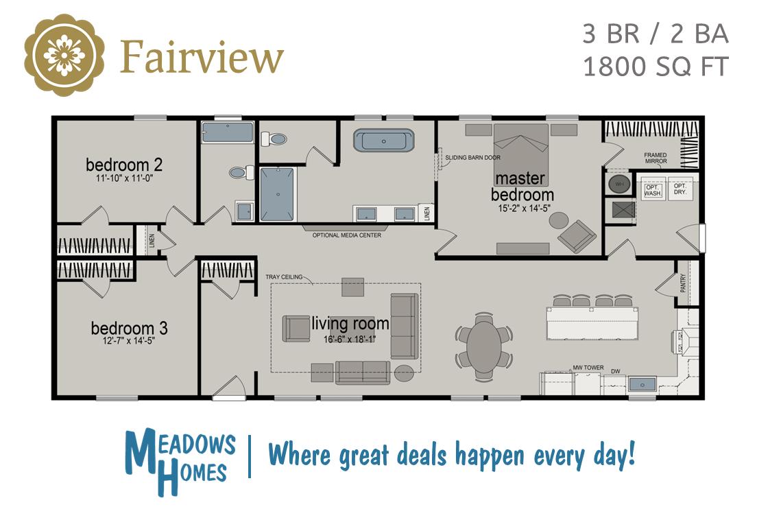 Fairview Floorplan