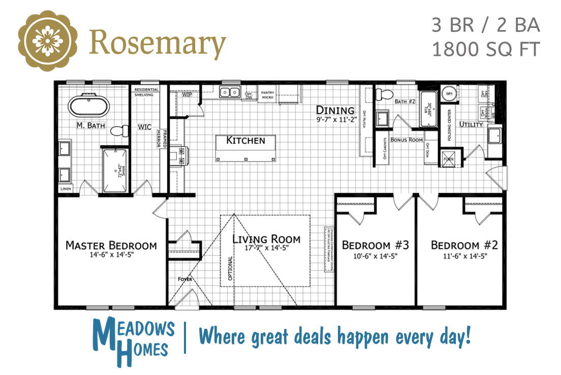 Rosemary Floorplan