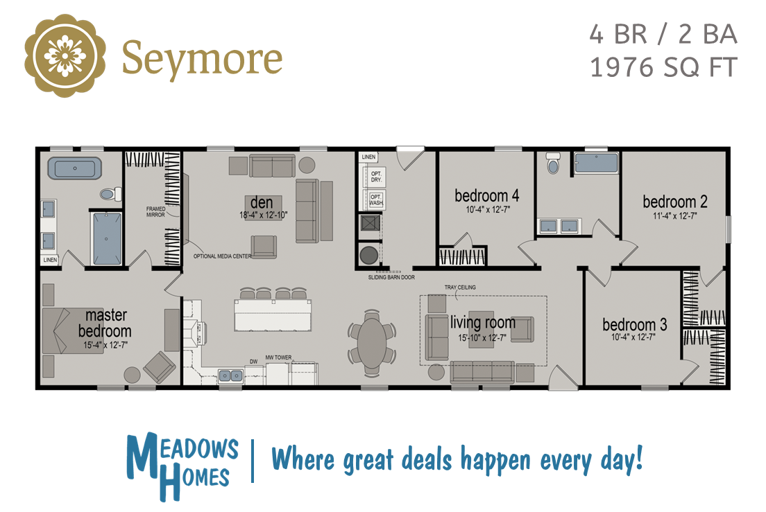Seymore Floorplan