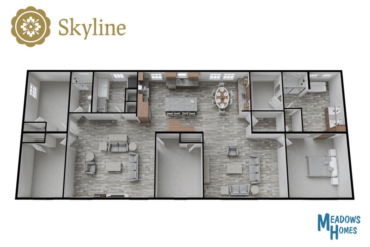 Skyline 3D View