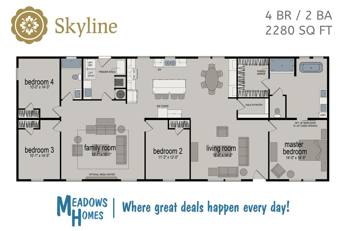 Skyline Floorplan
