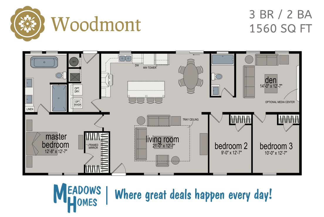 Woodmont Floorplan