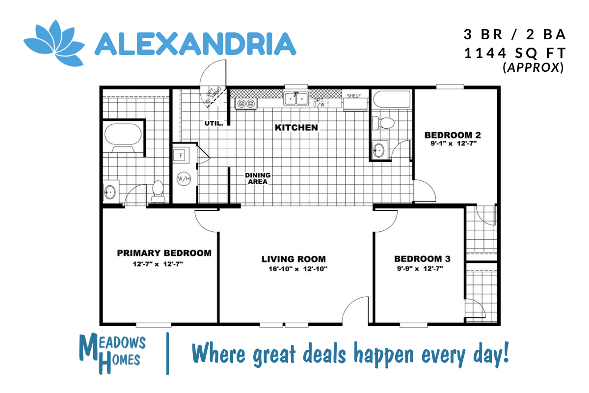 Alexandria Floorplan