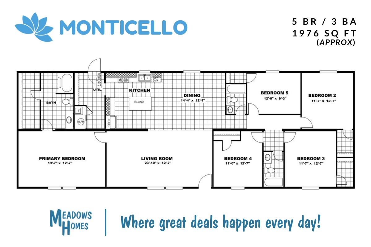 Monticello Floorplan