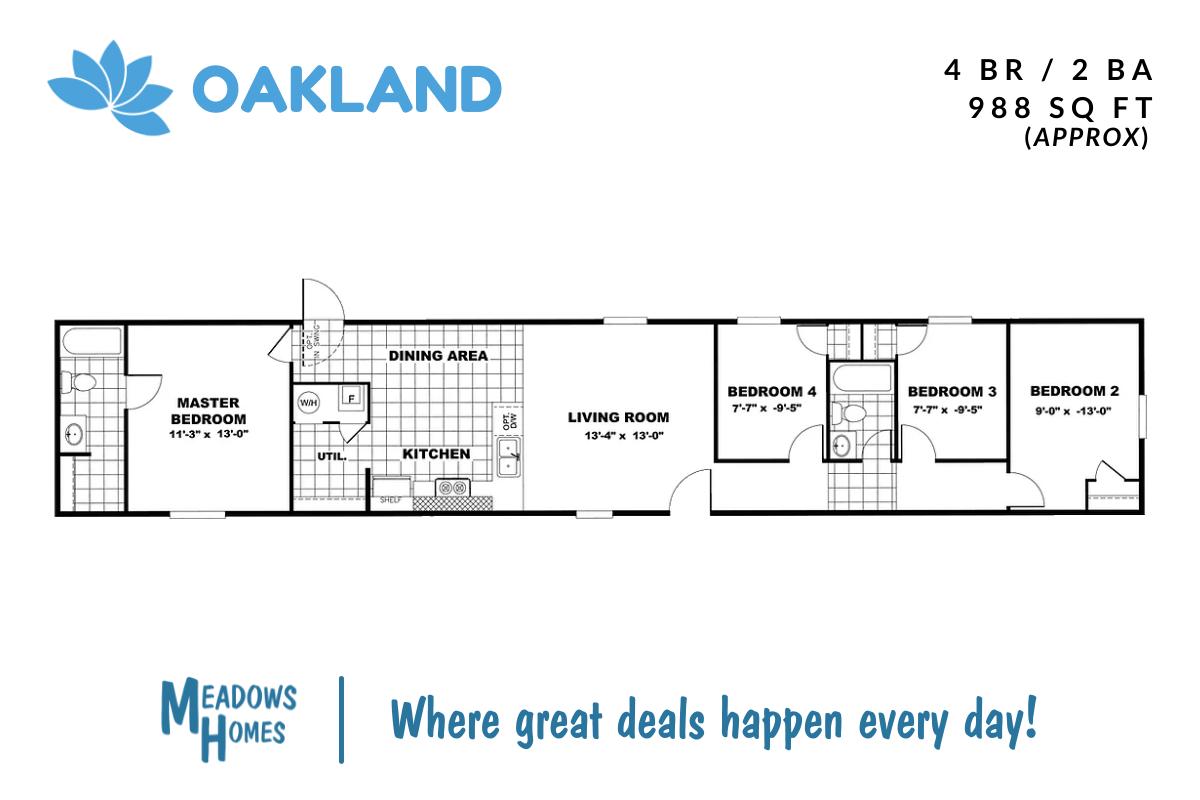 Oakland Floorplan