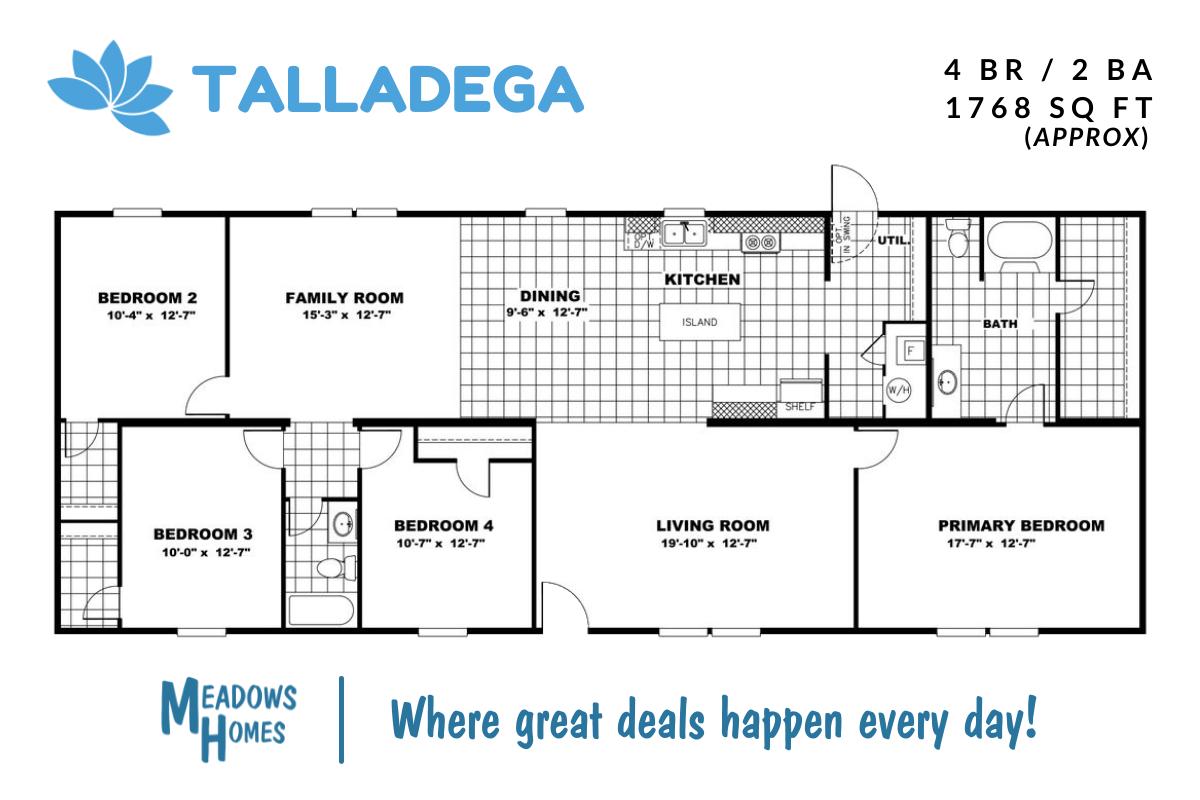 Talladega Floorplan