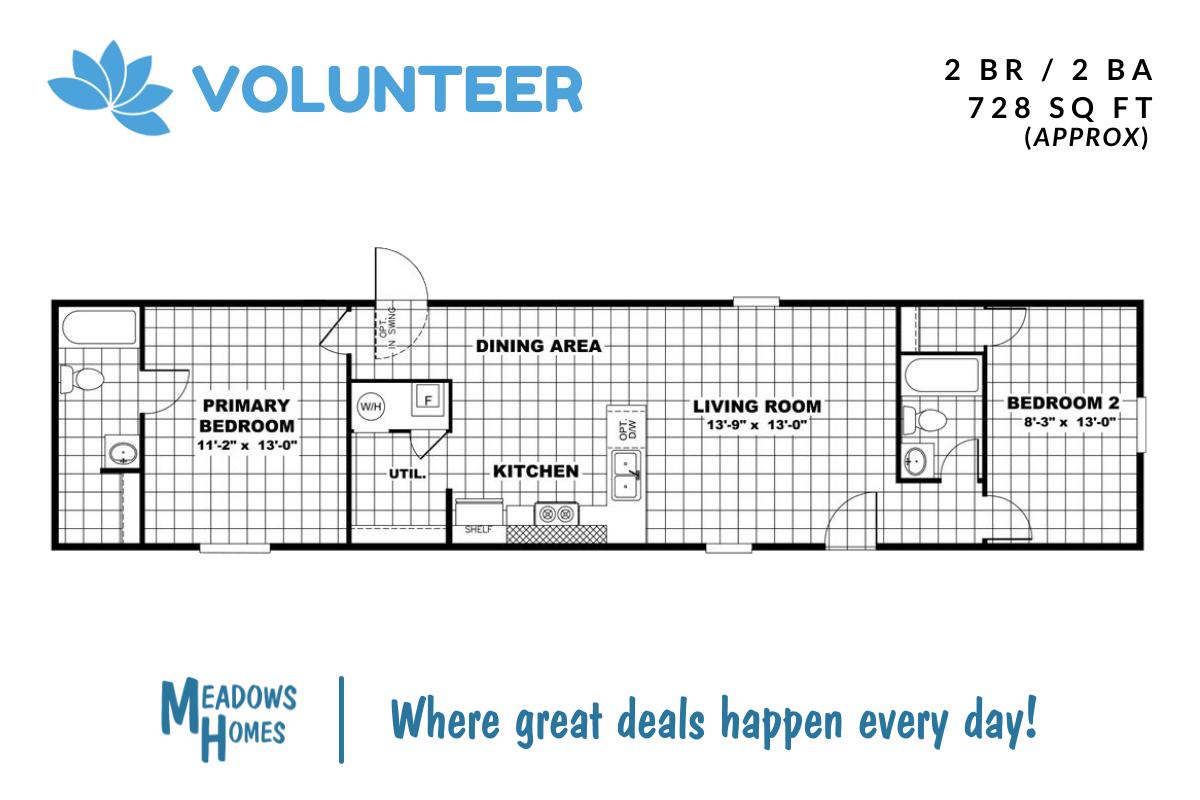 Volunteer Floorplan